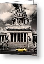Havana El Capitolio Greeting Card