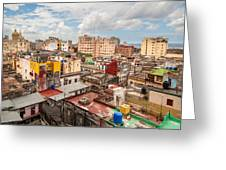 Havana From Above Greeting Card