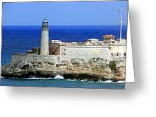 Havana Harbor Lighthouse Greeting Card