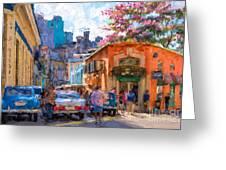 Havana In Bloom Greeting Card