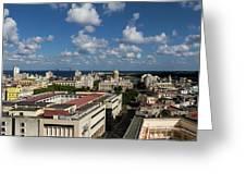 Havana Rooftops Greeting Card