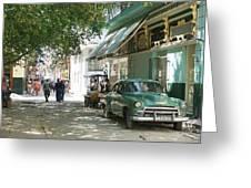 Havana Streets 1 Greeting Card
