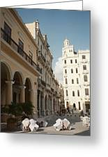 Havana Vieja Greeting Card