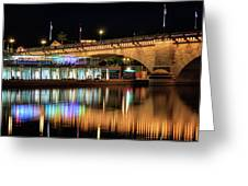Havasu At Night Greeting Card