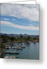 Havasu City Az Waterfront Greeting Card