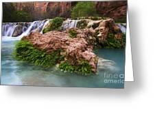 Havasu Creek Grand Canyon 14 Greeting Card
