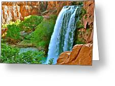Havasu Falls Canyon Greeting Card