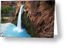Havasu Falls Grand Canyon 1 Greeting Card