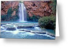 Havasu Falls - Grand Canyon Greeting Card
