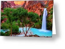 Havasu Falls Greeting Card
