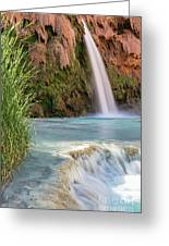 Havasu Falls Travertine Ledge Greeting Card