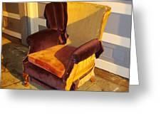 Have A Seat In Dore Alley Greeting Card by Mr Photojimsf