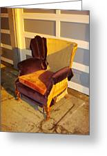 Have A Seat In Dore Alley Greeting Card