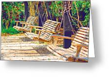 Have A Seat Relax Greeting Card