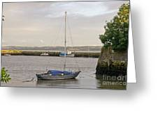 Haven. Smooth Water. Greeting Card