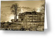 Havre De Grace Promenade Greeting Card