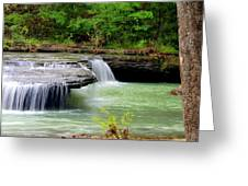 Haw Creek Falls Greeting Card