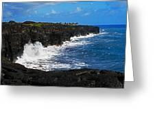 Hawaii Ocean Coast 2 Greeting Card