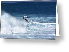 Hawaii Pipeline Surfer Greeting Card