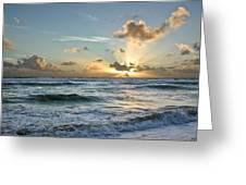 Hawaii Sunrise Greeting Card