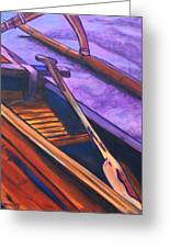 Hawaiian Canoe Greeting Card
