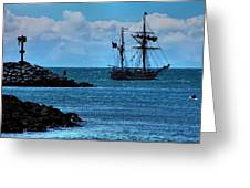 Hawaiian Chieftain-2 Greeting Card