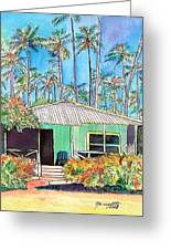Hawaiian Cottage I Greeting Card
