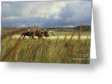 Hawaiian Cowboys Greeting Card