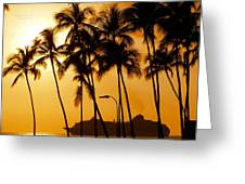 Hawaiian  Cruise Greeting Card