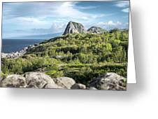 Hawaiian Island Drive Greeting Card by T Brian Jones