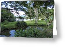 Hawaiian Lagoon Greeting Card
