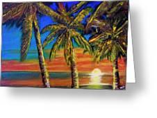 Hawaiian Moon #404 Greeting Card