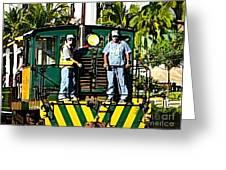 Hawaiian Railway Greeting Card