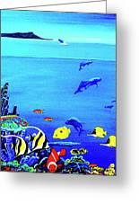 Hawaiian Reef Fish Nimo #193 Greeting Card