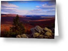 Hawk Mountain Pennsylvania Greeting Card