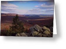 Hawk Mountain Sanctuary Greeting Card by David Dehner