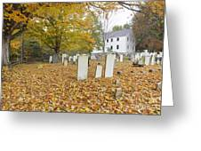 Hawke Meetinghouse - Danville New Hampshire Greeting Card