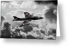 Hawker Hunter Greeting Card