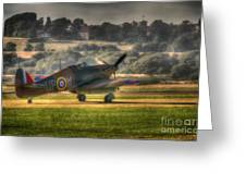 Hawker Hurricane Mk 1 R4118 Takeoff Greeting Card
