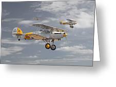 Hawker Nimrod Greeting Card