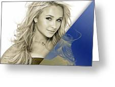Hayden Panettiere Collection Greeting Card