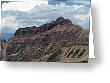 Hayden Peak Greeting Card