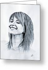 Hayley Williams. Greeting Card