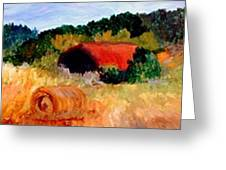 Hayrolls Greeting Card