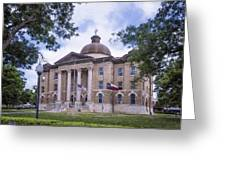 Hays County Courthouse Greeting Card