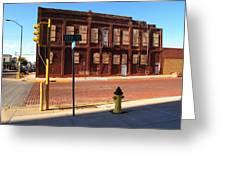 Hays, Kansas - 12th Street Greeting Card