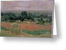 Haystack At Giverny Greeting Card