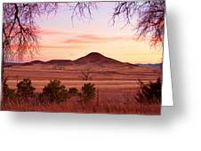 Haystack Mountain - Boulder County Colorado -  Sunset Evening Greeting Card