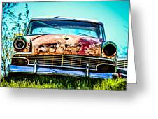 Hdr Car Greeting Card