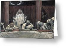 He Appeared To The Eleven Greeting Card by Tissot